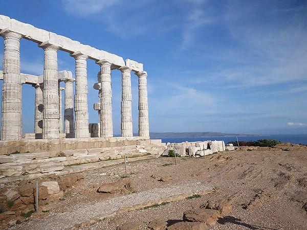 Grèce en hiver : les oiseaux des sites antiques
