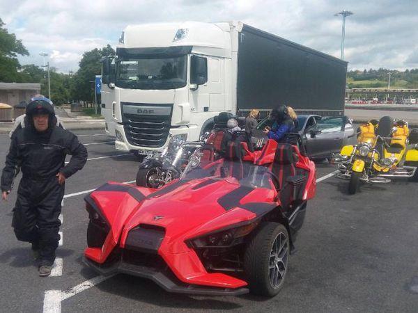 Corsica Trike Tour premier Weekend