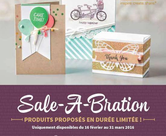 Nouvelles offres Sale-A-Bration!