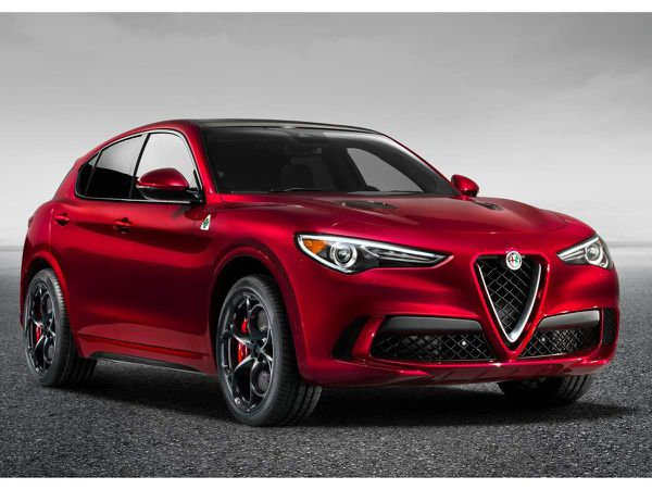Automobile : Alfa Romeo dévoile son modèle SUV Stelvio 2018
