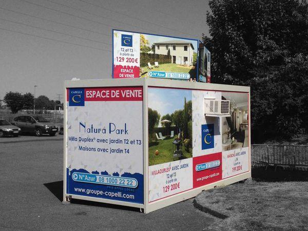 Immobilier bulle de vente modulaire bureau de vente temporaire promoteur constructeur d - Bungalow bureau de vente ...
