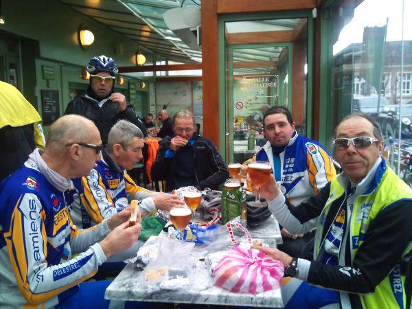 Amiens /St Valéry/Amiens 7 mars 140km