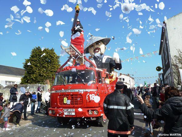 Char Tchin Tchin le pompier