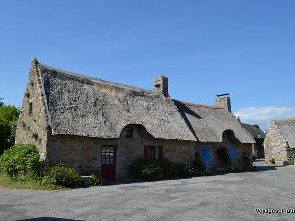 Bivouac à Kerascoët (29) au pays des chaumières bretonnes