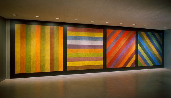 Fountain 1917 (Marcel Duchamp) - US Pavillon 1964 (Robert Rauschemberg)-Wall Drawing 1993(Sol.Lewit