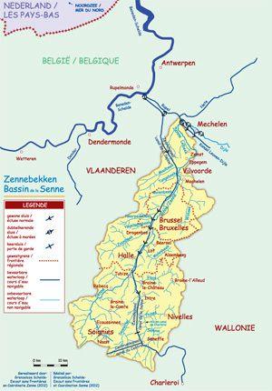 Vallée de la Senne et inondations :  une coordination interrégionale plus que jamais nécessaire