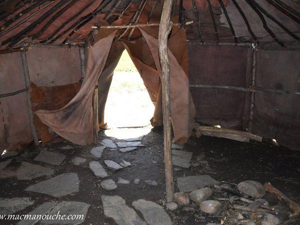 Le campement préhistorique !