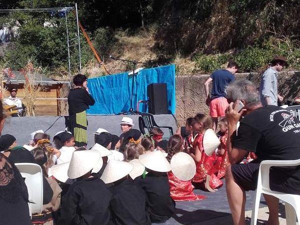 Spectacle de fin d'année à l'école de Lumio