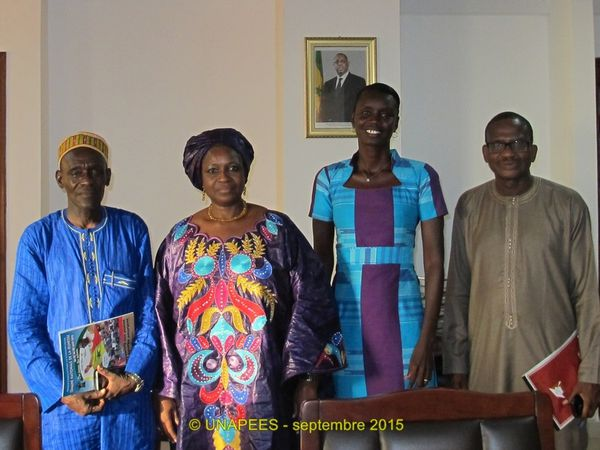 l'UNAPEES rencontre le Haut Conseil du Dialogue Social
