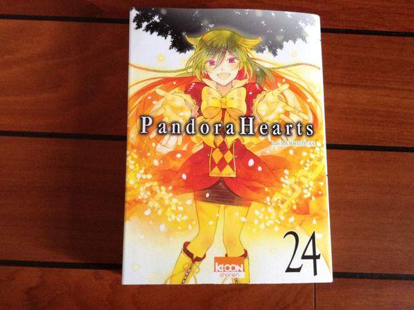 Présentation : Pandora Hearts Tome 24 &amp&#x3B; Tome 24+1 Last Dance!