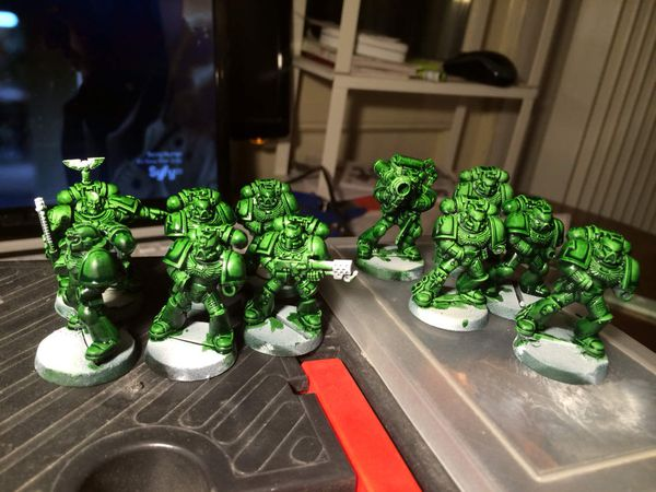 [WIP] Seconde Escouade Tactique Dark Angels