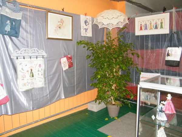 salon à La Valette du Var avec l'association Vallis Créativa en Octobre 2015