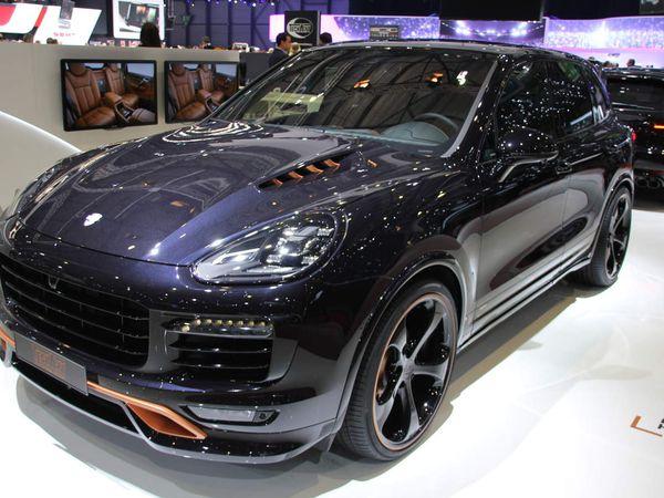 Programme d'équipements Techart for Cayenne, sur base Porsche Cayenne Diesel.