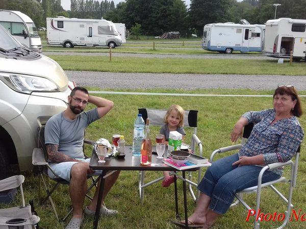 Sur  la  route en  camping-car : 24ème sortie (2/7)