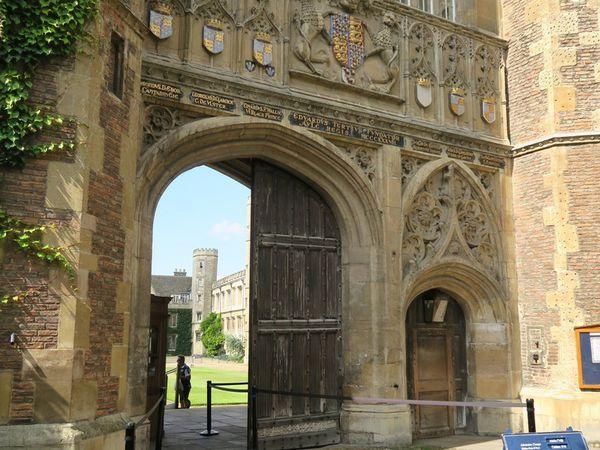 Cambridge, sa rivière et ses Colleges