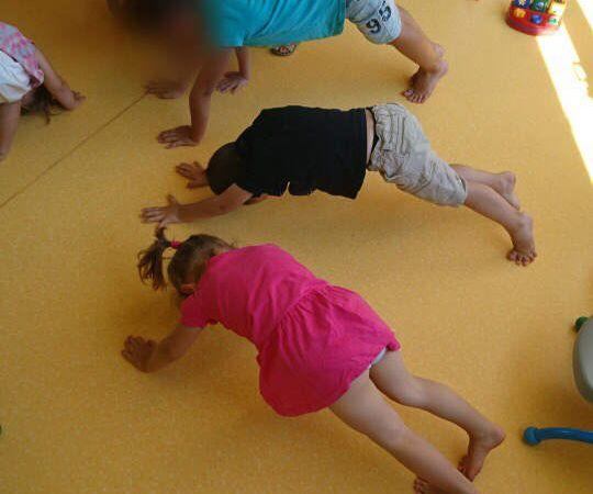 Les bambins commencent à bien connaitre les positions !
