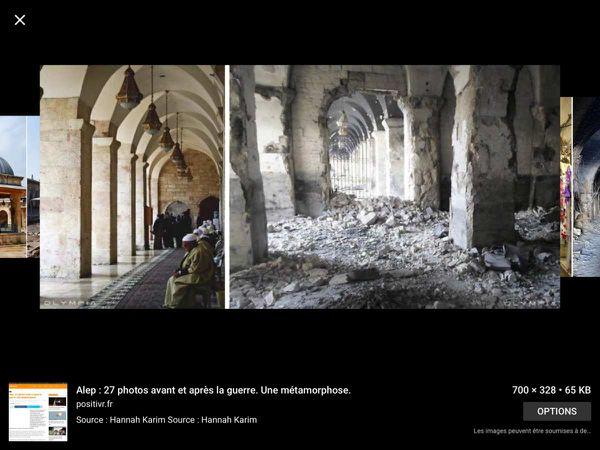 Avant ET après EN Syrie