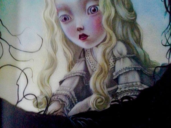 Alice au Pays des Merveilles, Lewis Carroll, illustré par Benjamin Lacombe.