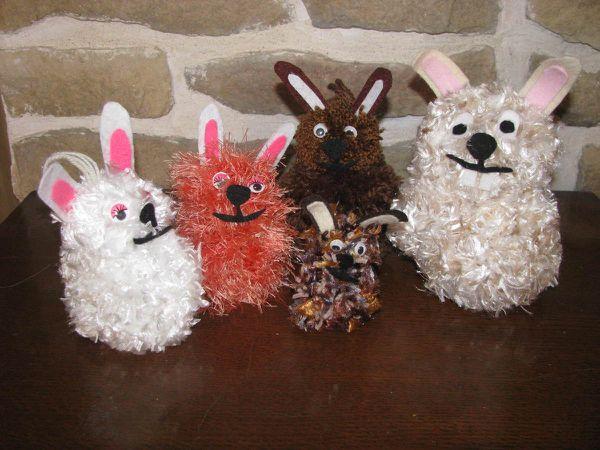 Pompons de Pâques