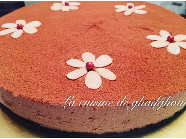 � gâteau chocolat et mousse café☕️�