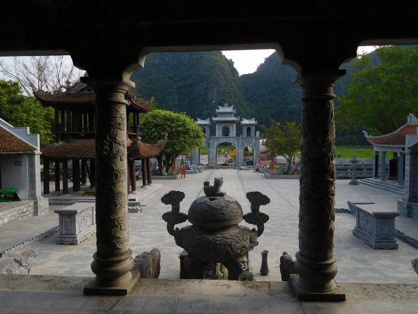 Dernier arrêt dans une petite pagode de Hoa Lu