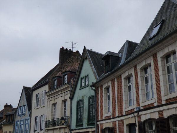 Les jolies façades colorées