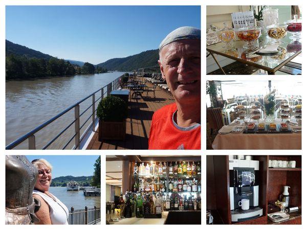 Navigation de Passau à Linz le 8 août 2016
