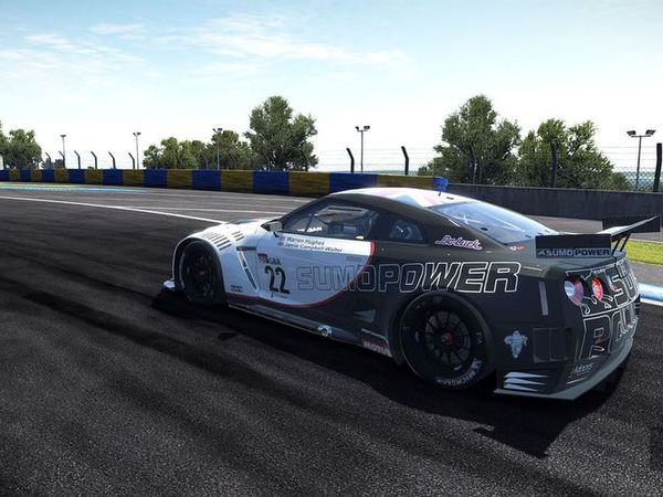 The nissan GT-R GT1 is ready to download