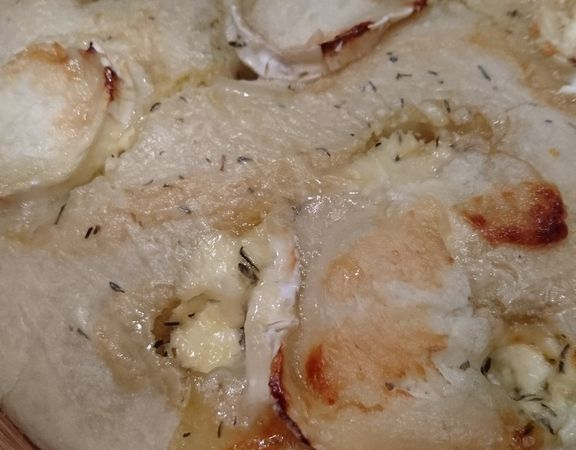 Focaccia ou Fougasse chèvre-miel