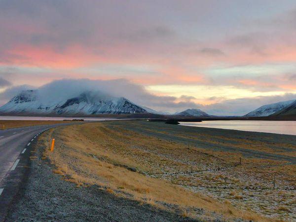 Photos du matin en direction de Stykkishólmur : les paysages sont toujours au rendez-vous heureusement !