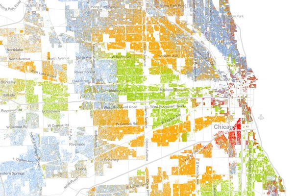The Best Map Ever Made of America's Racial Segregation