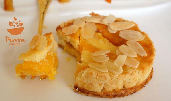 Tartelette amandine à l'orange