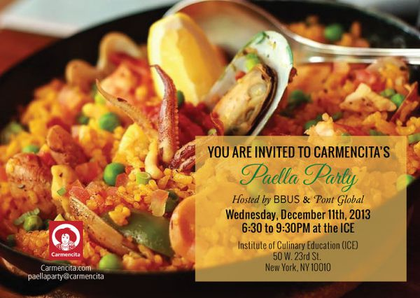Bisila Bokoko &amp&#x3B; Pont Global to host a cocktail style Paella Party for Carmencita  in New York