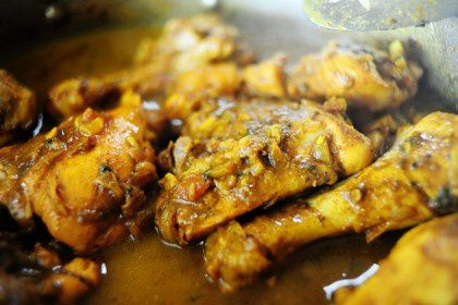Food • Jamaican Curry Chicken