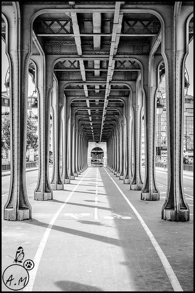 Sous la jupe des ponts