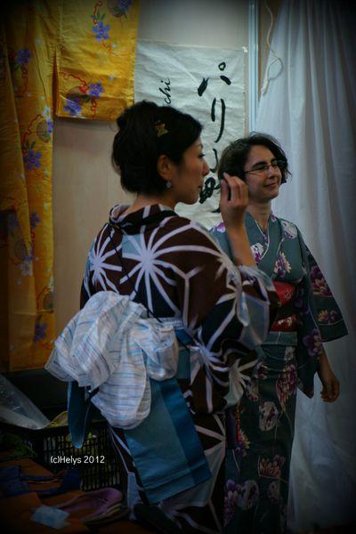 Yukata pour don aux sinitrés du 11 mars 2011