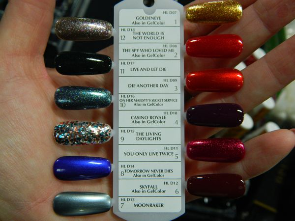 Opi skyfall Collection !!