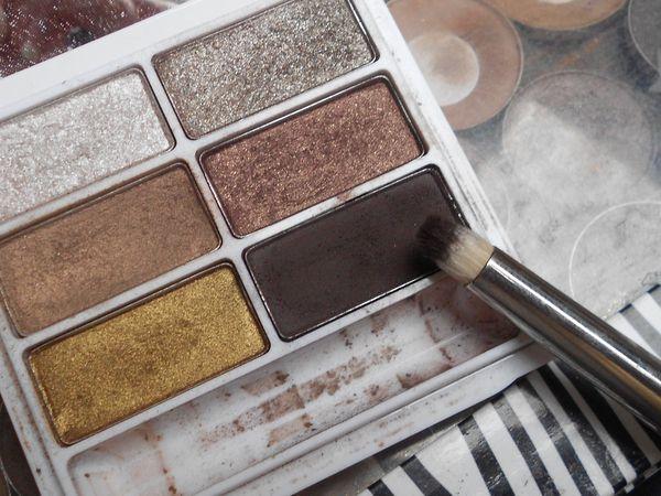 Maquillage avec des pigments!!!
