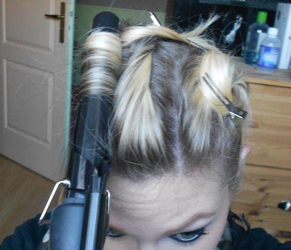 Tuto coiffure : Pin Up style !!