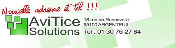 AviTice Solutions : nouvelle adresse !
