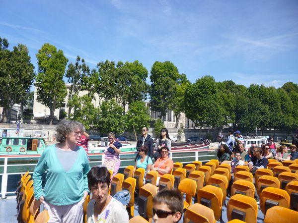Une journée bien remplie  à Paris