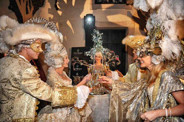 Festa in maschera al Carnevale di Venezia