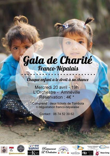 Amnéville Gala de charité franco-népalais le 20 avril 2016