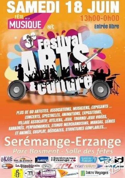 Sérémange-erzange 3ème Festival &quot&#x3B;Arts et Culture&quot&#x3B; le 18 juin 2016