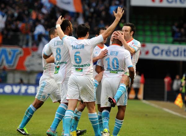 L'OM club préféré en France devant l'OL, le PSG et l'ASSE