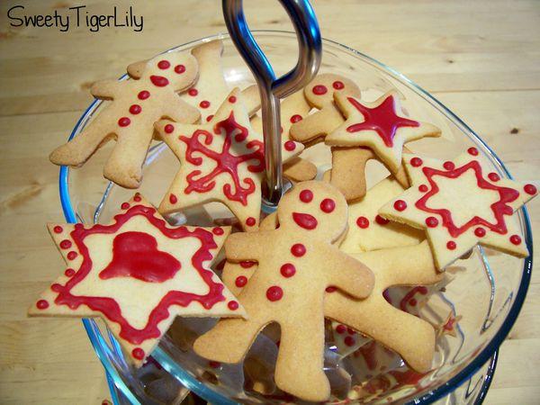 Biscuits de Noël au gingembre