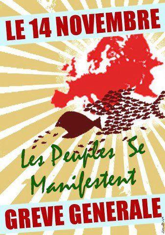 14 nov : Tract unitaire CFDT, CGT, FO, FSU, UNSA et Solidaires du Tarn et Garonne