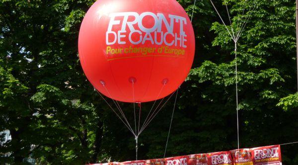 Européennes 2014 : La déception du Front de gauche