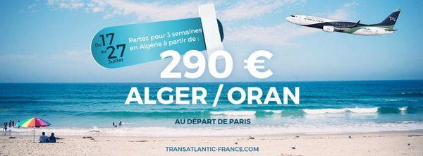 Alger-Oran-Paris/Les vols charters du 29 et 30 Août 2015 ne sont pas annulés !