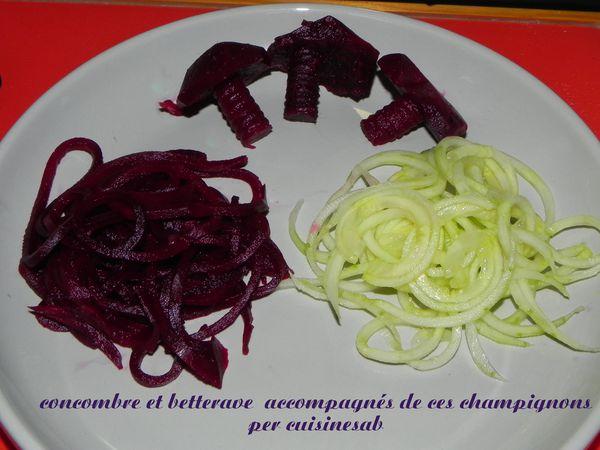 essai du spiraleur à légumes de mon partenaire G.IF